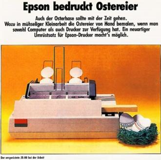 Ostereier-Drucker