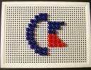 Commodore-Logo mittels Steckspiel #3