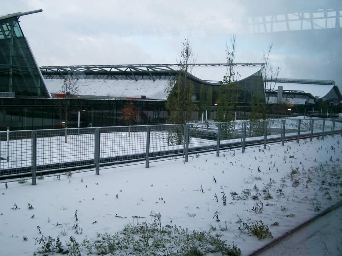 Messehallen unter Schnee (2007)