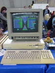 C128 mit Star Trek NG (Borg attack)