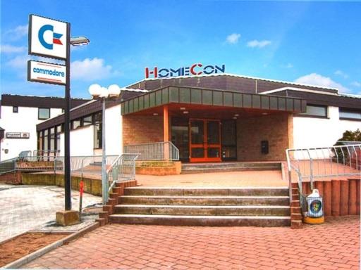 Das Bürgerhaus nach der Übernahme durch die HomeCon