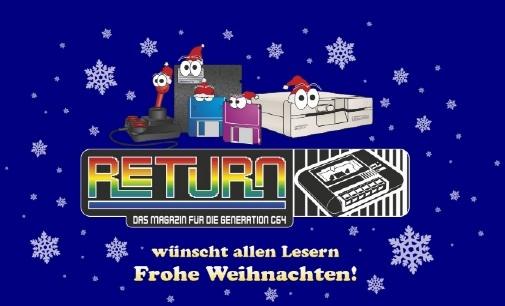 RETURN wünscht Frohes Fest!