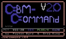 CBM-Command - Titelbild am C64