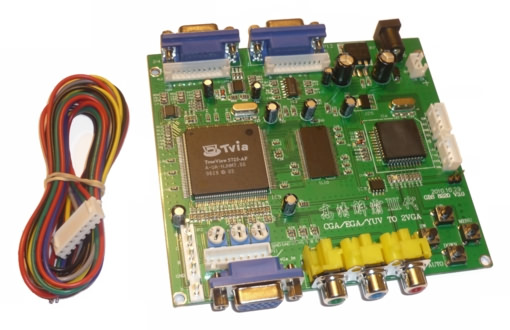 RGB2VGA-Konverter