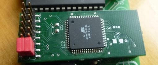 IEC2ATA Adapter mit leistungsfähigerem Atmel AVR