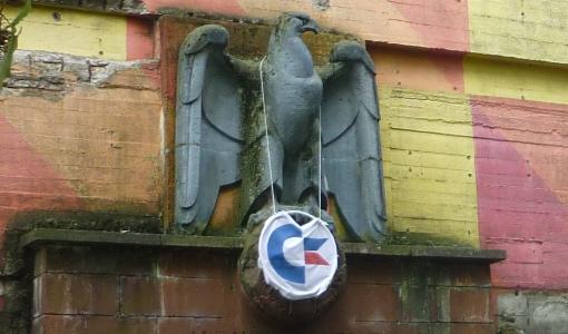 Commodore-Adler am Bunker [Link zum Partybericht]