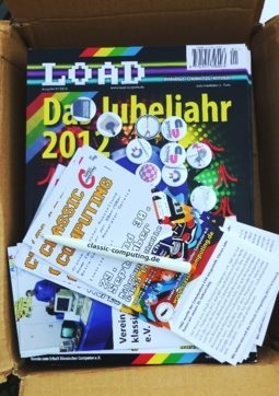 LOAD-Magazin in der Kiste