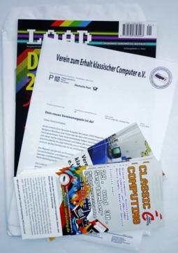 LOAD-Magazin mit Mitgliederbrief