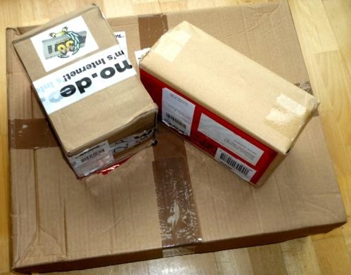 Pakete für die Hobby & Elektronik 2012
