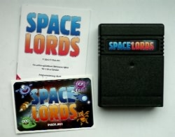 Inhalt der Space Lords-Plastikbox