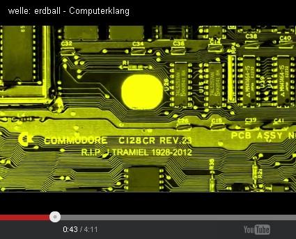 Welle: Erdball - Computerklang C128-Platine