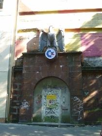 Eingang zum Bunker in Bochum Werne