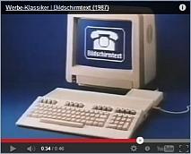 BTX Werbung von 1987