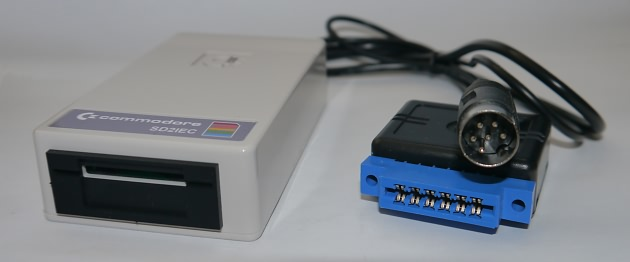 SD2IEC im Commodore-Style Typ II