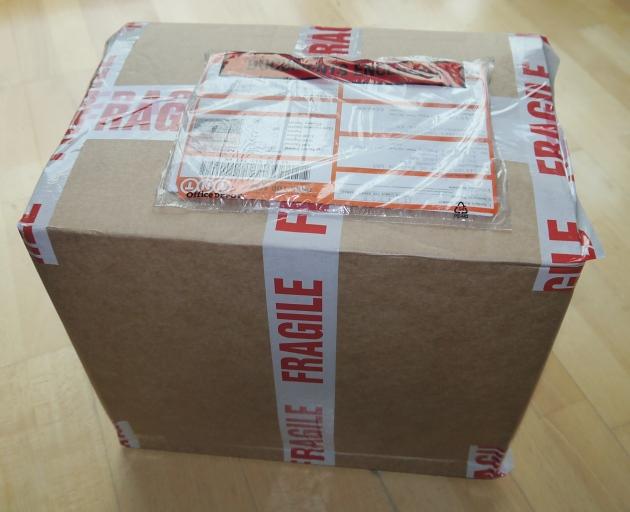Paket aus UK