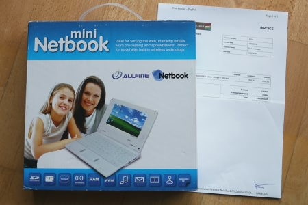 Netbook aus UK