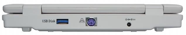 C64p Rückseite