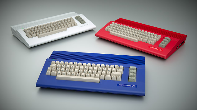 C64c red white blue (c) Tommes