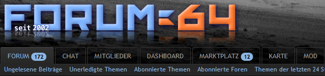 Neues Bord für das Forum64