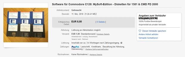 MySoft auf eBay