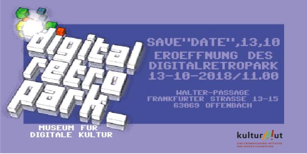 Einladung: Digital Retro Park Museum