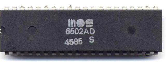 MOS 6502AD Quelle: cpu-collection.de