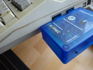 Unijoysticle am C128